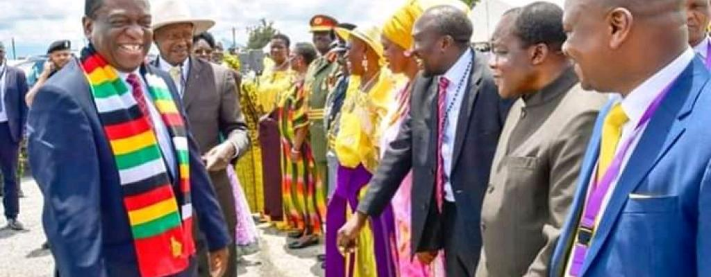 During 57th National Independence Celebrations held in Sironko District at the District headquarters